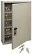 Trezorová skříň - Key Cabinet Pro - s kódovým zámkem pro 30 klíčů - Hnědá - 1/3