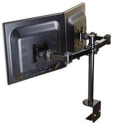 Flatscreen na stůl pro 2 obrazovky (objímka),černý, 10-2