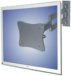 Flatscreen na stěnu (3 čepy, výklopný), stříbrný, 10-24