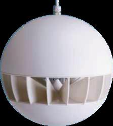 Závěsný reproduktor, ø254  mm, 20/10/5/2,5 W / 100 V, 80 - 1