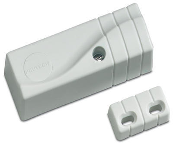 Vibrační otřesový detektor pro okna / dveře / stěny + magnetický kontak otevření dveří / okna, bez LED
