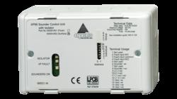 Jednotka řízení požárních zvukových výstupů (sirén) pro