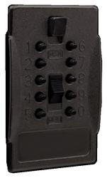 Náhradní přední kryt s kódovou klávesnicí BigBox - Černá