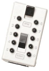 Náhradní přední kryt s kódovou klávesnicí StrongBox - Bílá