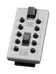 Náhradní přední kryt s kódovou klávesnicí StrongBox - Šedá