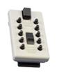 Náhradní přední kryt s kódovou klávesnicí StrongBox - Hnědá