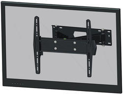 """Flatscreen na stěnu (3 čepy, výklopný), černý,  32-60"""""""