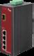 4-Port  10/100Base-Tx IEEE802.3af Copper + 1-Port  SFP Unmanaged Media Converter (4x 15,4W PoE Budget)  (-40~75℃) - Power 24-48V DC or 24V AC - Din rail or Wall Mount - accepts SFP Port 100Base-SX/FX/BX/LX only - 1/3