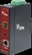 1-Port 10/100/1000Base-T Copper + 1-Port SFP Managed Media Converter (-30~75℃) - Power 12-48V DC - Din rail or Wall Mount -  accepts SFP Port 1000Base-SX/BX/LX/LHX/ZX only - 1/3