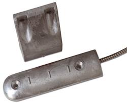Magnetický kontakt, pro montáž na podlahy nebo rolovací vrata