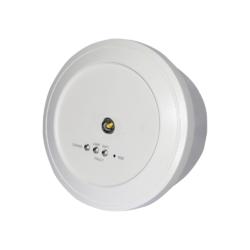 Dočasné nouzové, vodotěsné světlo pro otevřené vnější prostory s auto-testem 270ml, výdrž 1,5 hod. - 1