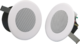 Stropní kovový reproduktor, ø132 / 97 mm, 4/2/1/0,5/0,25 - 1/2