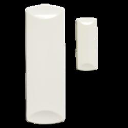 Bezdrátový magnetický kontakt na okno / dveře mikro, 1 x 3 V bat (3 až 8 let), 433MHz protokol 80+, 65 x 25 x 8 mm, bílý , 0 - + 49 ° C