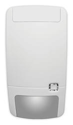 Bezdrátový PIR detektor, 868 MHz Gen2, 5D zpracování, patentovaná zrcadlová optika s plovoucím ohniskem, 16/10 m - 86 ° 9 záclon + spodní snímání, 1,8 - 3 m mont. výška, 1 x 3V (5 let), 130 x 69 x 53 mm, -10 - + 55 ° C, IP30, IK02, EN stupeň 2
