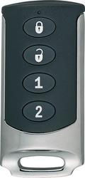 RF přívěsek na klíče se čtyřmi tlačítky, 433 MHz,