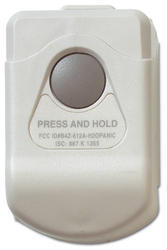 Bezdrátový tísňový ovladač - 1 tlačítko, 433MHz