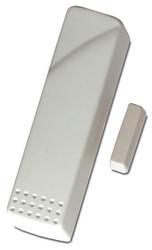 Bezdrátový otřesový detektor, 433 MHz, dosah 150 m, bílý