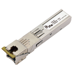 SFP-Port 1000Base-T Mini-GBIC Module - 1 RJ45 Copper Port - 100m(0~50℃)