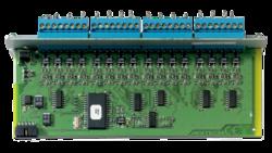 Karta  LON - 16 vyvážených vstupů,  napájení 24V