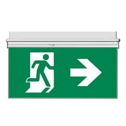 Oboustranný panel pro značení evakuační cesty vlevo/vpravo
