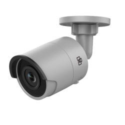 TruVision 8MPx/4K, H.265/H.264, IP Fixed Lens Bullet Cam