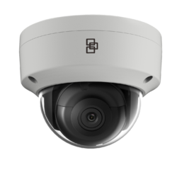 TruVision 8MPx/4K, H.265/H.264, IP Fixed Lens Dome Camer