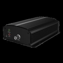 TruVision IP Encoder, 1 CH, H.265/H.264, Compact, 5MP (Max) HD-TVI, 960H, Audio, Alarm, RS-485, PoE (803.AF), 12VDC
