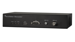 TruVision Decoder for 16 streams,  3 outputs (HDMI, VGA, BNC), 12 VDC