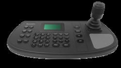 TruVision RS485/IP keypad, 4-axis joystick, 12VDC