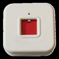 Tísňové tlačítko mechanické s indikací LED s přepínacím kontaktem