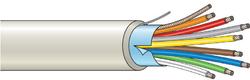 Stíněný kabel 8 žílový - lanko (100 m), (8x0,22 mm2)