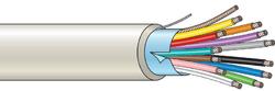 Stíněný kabel 12 žílový - lanko (100 m), (12x0,22 mm2)