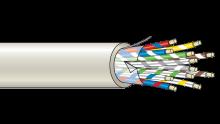 Stíněný kabel 12 žílový - drát (100 m), (12x0,22 mm2)