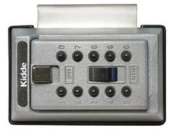 Klíčový trezor s montáží na dveře/zárubně - StrongBox pro 3 klíče - Šedá - 2