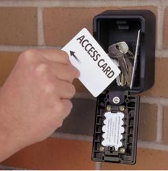 Klíčový trezor - Pro BigBox pro pevnou montáž,s velkým vnitřním prostorem a odolnou úpravou - Černá - 2