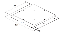 Vyhřívání zamezující kondenzaci vlhkosti pro jednu nebo čtyři odrazky, - 2