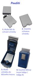 Vnitřní ochranná schránka pro klíčové trezory Indigo XL - 2