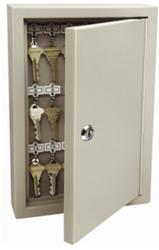 Trezorová skříň - Key Cabinet Pro - se zámkem pro 30 klíčů - Hnědá - 2