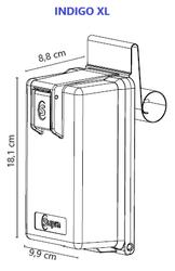 Klíčový trezor INDIGO XL bez zámku - 2