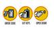 Klíčový trezor - StrongBox SlimLine pro 2 klíče - různé barvy - 2/4