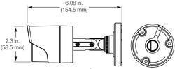TruVision HD-TVI Analog Bullet Camera, 5MPx, 3.6mm lens, - 2