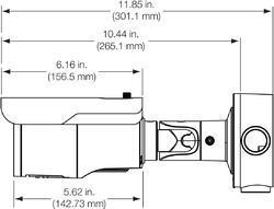 TruVision HD-TVI Analog Bullet Camera, 5MPx, 2.8~12mm mo - 2