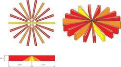 PIR/MW duální stropní detektor s antimaskingem - 2