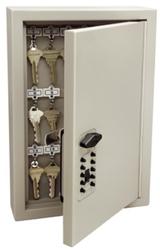 Trezorová skříň - Key Cabinet Pro - s kódovým zámkem pro 30 klíčů - Hnědá - 2
