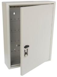 Trezorová skříň - Key Cabinet Pro - s kódovým zámkem pro 60 klíčů - Hnědá - 2