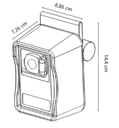 Klíčový trezor pro pevnou montáž MAGNUM bez zámku - 2