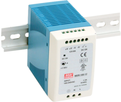 100-240V AC Input 48VDC 240W Power Supply with DIN rail mount - 2