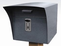 Kódový zámek TouchPoint pro zabudování do skříní a schránek - Hnědá - 3