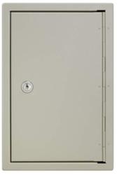 Trezorová skříň - Key Cabinet Pro - se zámkem pro 30 klíčů - Hnědá - 3