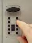 Trezorová skříň - Key Cabinet Pro - s kódovým zámkem pro 30 klíčů - Hnědá - 3